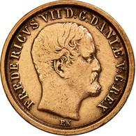Danemark, Frederik VII, Rigsbankskilling, 1853, TTB+, Cuivre, KM:756 - Denmark