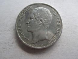 Belgique 5 Francs 1853 - 11. 5 Francos