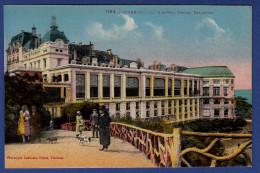 64 BIARRITZ Le Nouveau Casino Bellevue ; Chiens - Animée - Colorisée - Biarritz