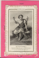 (IMAGE RELIGIEUSE  ) Le Petit St Jean   (canivet Mecanique) - Images Religieuses