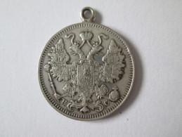 NIKOLAUS II RUSSIA 15 KOPEK 1915 SILVER - Austria