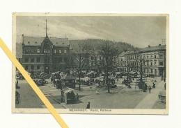 AK Meiningen - Detail - Rathaus - Gelaufen 1929 - Meiningen