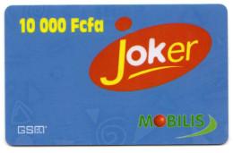 CAMEROUN Prepayé GSM MOBILIS JOKER 10 000 FCFA - Cameroun