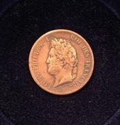 COLONIES FRANÇAISES - Louis-Philippe Ier Pour La Guadeloupe 5 CENT.  1841 A, Paris - Colonies