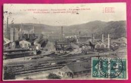 ESPERANTO  FRANCIA CARTOLINA DA LE CREUSOT A VERONA  1910 - Esperanto