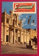 ESPERANTO  MANFREDONIA  CARTOLINA CON ETICHETTA ED ANNULLO SPECIALE 51 CONGRESSO - Esperanto