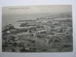 1909 , Karte Nach Deutschland , Aus Lüderitzbuch (Ansicht) - Colony: German South West Africa