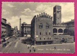 ESPERANTO  BOLOGNA ERINNOFILO SU CARTOLINA  CON ANNULLO KONGRESSO  DE LA ITALAI ESPERANTIST0 1952 - Esperanto