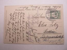 1910 , Karte Nach Deutschland , Aus Keetmanshoop - Colony: German South West Africa