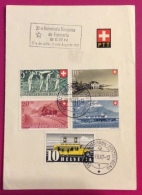ESPERANTO  SVIZZERA  32 UNIVERSALA KONGRESO BERNA 1947 - Esperanto