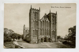West Front, Ripon Cathedral - England