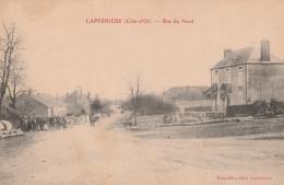 LAPERRIERE - LA RUE DU NORD - BELLE CARTE ANIMEE -  TOP !!! - France