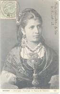 MINHO PORTUGAL  Rapariga De Vianna Do Castello RARISIME CIRCULATION A TANDIL L'ARGENTINE AÑO 1908 - Europe