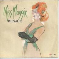 """45 Tours SP - RENAUD  - VIRGIN 90237   """" MISS MAGGIE """" + 1 - Vinyl-Schallplatten"""