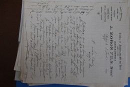 AMBERT     -          A.   MORON   FILS      1910 - Lebensmittel