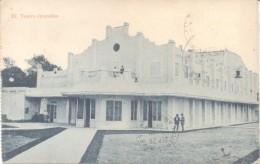 TEATRO GRANADOS CPA CIRCULEE 1932 A TRES ARROYOS L'ARGENTINE RARE CIRCULATION TIMBRE ARRACHE - Paraguay