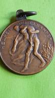 Helpen We Elkander, Hulp Aan De Overstroomden, 1926 - Souvenirmunten (elongated Coins)