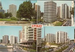 Epinay Sur Seine-les Immeubles-place Du 11 Novembre-rue Dumas-rue De Paris-rue Lacepede-cpm - Frankreich
