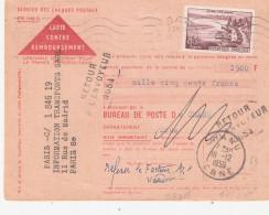 Orne:- CHANU Griffe RETOUR A L´ENVOYEUR 4684 - Marcophilie (Lettres)