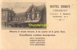 CPA  HOTEL DUROY LIBRAMONT - Libramont-Chevigny