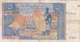 ALGERIE - BILLET DE 5 DINARS - 1970 - Algérie