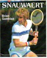Sticker  Tennis Brian Gottfried  Autocollant Sport Reclame - Tennis
