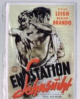 Endstation - Vivien Leigh - Marlon Brandon - Elia Kazan-20 Cm X 15 Cm !!! - Artistes
