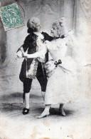 Costumes XVe S Couple De Danseurs 1907 - History