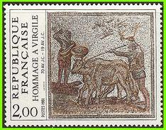 France 1981 2174 ** Mosaïques Hommage à Virgile Bœuf - Vaches