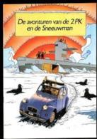 Tintin : Les Aventures De La 2CV Et De L'homme Des Neiges. - Hergé
