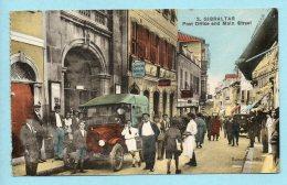 Gibraltar - Post Office And Main Street - Cartoline