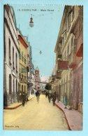 Gibraltar - _Main Street - Cartoline