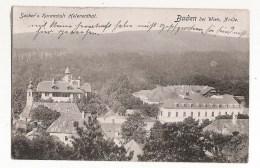 CPA DE 1910 - AUTRICHE - BADEN BEI WIEN - SACHER'S KURANSTALT HELENENTHAL - Baden Bei Wien
