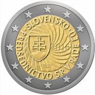 SLOVAKIA / SLOVAQUIE - 2 Euro 2016 - UE Councel - Disponibles!!! - Slovakia
