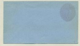 El Salvador - 1891 - 1 Centavo Preprinted Envelope - Blue Paper - El Salvador