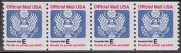 !a! USA Sc# O140 MNH Horiz.STRIP(4) - Great Seal - Officials