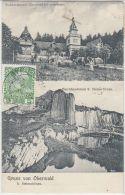 26827g  OBERWALD - Waldrestaurant - Herrnhausfelsen - 1910 - OW Obwalden