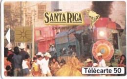 AFFAIRE à Ne Pas RATER  !!!  TC Privée 50 Unités CAFE SANTA RICA PUB Nestlé  Utilisée LUXE - Frankreich