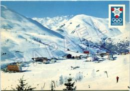 Les Deux Alpes (38) - Pistes De Pied Moutet Et Chaîne De Belledonne - Xè JO D'Hiver De Grenoble 1968 - France