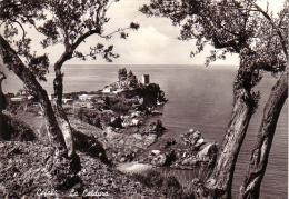 Cefalù PALERMO LA CALDURA VIAGGIATA IL 15/6/1957 - Palermo