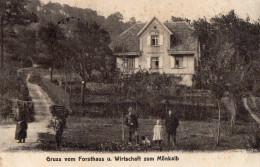 MAISON FORSTIERE DU MÖNKALB -  GRUSS VOM FORSTHAUS U. WIRTSCHAFT ZUM MÖNKALB - Octobre 1912 - Barr