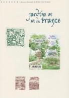 France 2011 Y&T F4580. Document Officiel. Jardins De France - Other