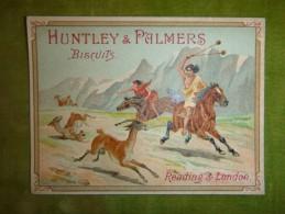 Chromo Chasse De La Gazelle - Biscuits HUNTLEY & PALMERS - Süsswaren