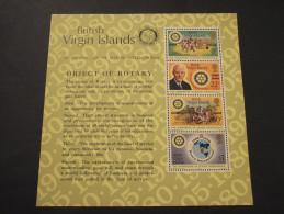 VIRGIN  - BF 1980 ROTARY - NUOVI(++) - British Virgin Islands