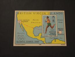 VIRGIN  - BF 1984 OLIMPIADI - NUOVI(++) - British Virgin Islands