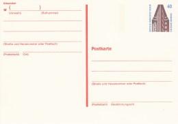 B P 134**  40 Pf. Sehenswürdigkeiten - Postkarten - Ungebraucht