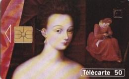 AFFAIRE à Ne Pas RATER  !!!  TC Privée 50 Unités ART Peinture Musée Du LOUVRE Gabrielle D' ESTREES Et Sa Soeur - France