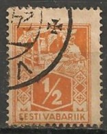 Timbres - Estonie - 1922 - 1/2 S. - - Estonie