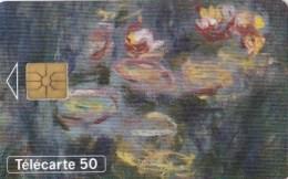 AFFAIRE à Ne Pas RATER  !!!  TC Privée 50 Unités ART Peinture Musée Du LOUVRE Les NYMPHEAS De MONET  Utilisée LUXE - France