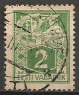 Timbres - Estonie - 1922 - 2 S. - - Estonie